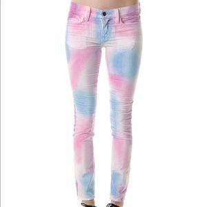 Wildfox velour jeans nwot
